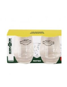 Copo de policarbonato de melamina x2 Água Riserva 30 cl Brunner