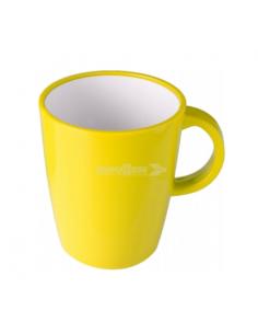 Grande copo de 30cl de melanina amarela. Brunner