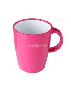 Große 30cl Tasse rosa Melanin. Brunner