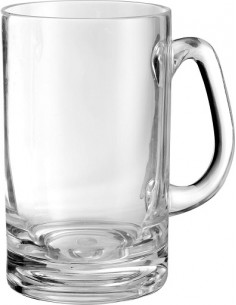 Jarra de cerveza de policarbonato de melanina x2 Beer Munich 55cl Brunner