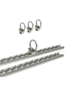 Guías de sujeción aluminio 60 cm con 24 posiciones