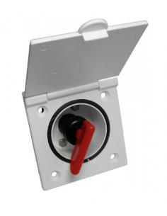 Caja exterior con desconector de batería Reich