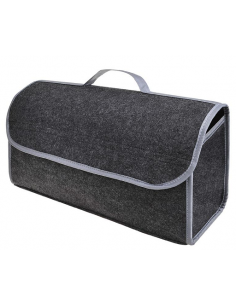 Faltbarer Taschenorganizer für den Gepäckraum.
