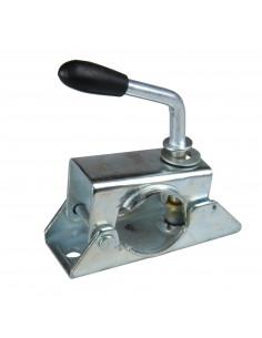 Braçadeira de roda jockey Ø 48 alça rígida com manivela