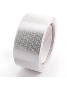 Fita reflexiva adesiva branca 2 metros
