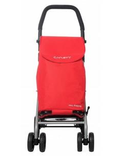 Carrinho de compras muito dobrável vermelho Lett 430 Carlett
