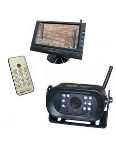 """Kit cámara inalambrica + pantalla lcd 7"""" visión nocturna"""
