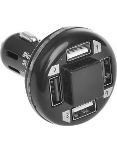 Cargador de coche USB cuádruple 12/24 voltios Pro Plus