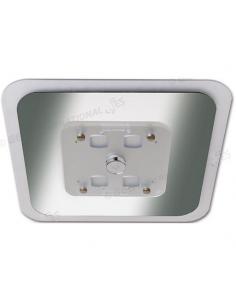 Plafón de techo con interruptor giratorio 24 Leds