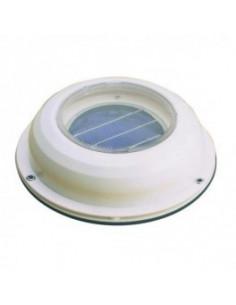 Extrator de ar do ventilador solar
