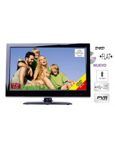 "Televisor Led HD 15,6"" con DVD Inovtech"
