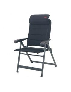 Cadeira dobrável em alumínio Air Deluxe 3D Compact Antracite Crespo