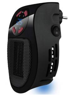 Mini calefactor cerámico portátil con temporizador 500 w Taurus