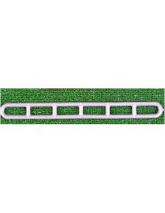 Tensor escalera PVC 6 tramos 10 unidades
