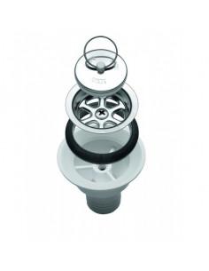 Siphon de drainage droit 25 mm de diamètre