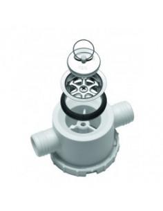 Siphonablauf 2 Auslässe 25 mm Durchmesser