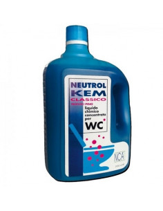 Líquido químico concentrado para WC Neutrol Kem Classic Menta  2 litros
