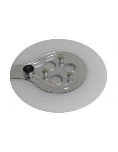 Plafón de techo circular 18 LED Frio 12v