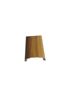 Kunststoffstreifen von 2,5 Metern Holzimitat