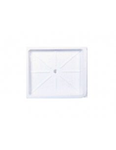Base de duche 590 x 510 mm branco