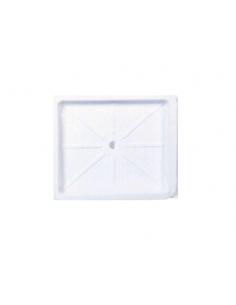 Plato de ducha 590 x 510 mm Blanco