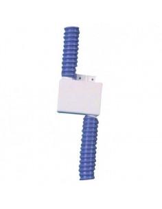 Sifão quadrado para lavatório com 20 mm de diâmetro