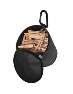 Bolso para pinzas de ropa con mosquetón Pro Plus