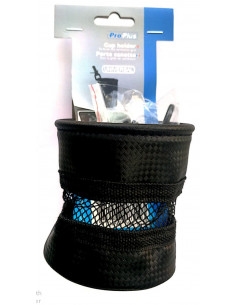 Porta-copos com suporte para fixação no duto de ventilação