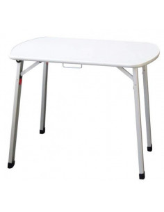 Table pliante en aluminium 90 cm