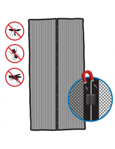 Cortina mosquitera anti insectos 210x50 cm con fijación magnética  Pro Plus