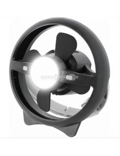 Ventilador de lâmpada recarregável com USB Brunner