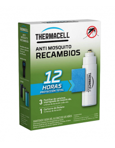 Recambio 12 horas anti-mosquitos Thermacell