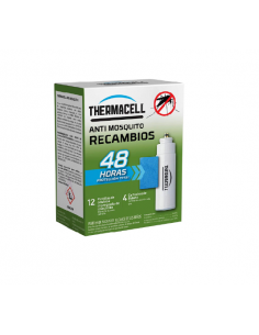 Recambio 48 horas anti mosquitos Thermacell