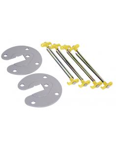 Plato de fijación para patas de toldo Fiamma