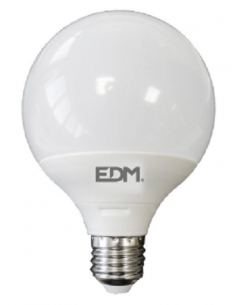 Bombilla LED Globo E27 15W EDM