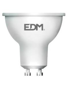 Lâmpada LED GU10 5W (luz fria ou quente) EDM