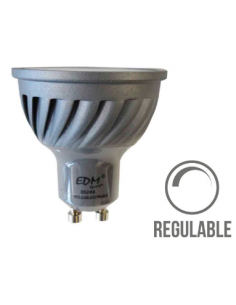 Bombilla LED GU10 6W Regulable dimmer EDM