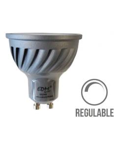 Bombilla LED GU10 6W Regulable dimmer EDM
