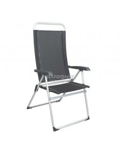 Cadeira eco cinza Midlan alta 114 cm.