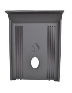 Deflector trasero o espalda 8,5kw. Estufas pellet piazzetta y Superior.