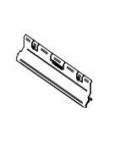 Defletor superior da cortina de ar 11KW. Fogão a pellets Piazzetta e Superior.