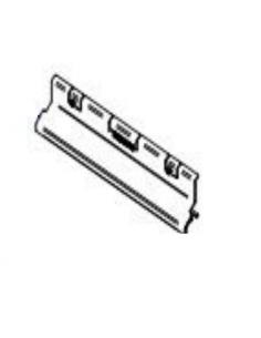 Obere Luftleitplatte des Luftvorhangs 11KW. Pelletofen Piazzetta und Superior.